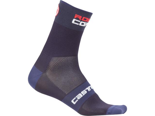Castelli Rossocorsa 9 Socks, dark/steel blue
